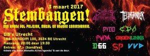 STEMBANGEN-debat met Sisters of Suffocation & Teethgrinder @ dB's | Utrecht | Utrecht | Netherlands