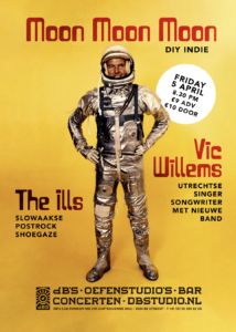 MOON MOON MOON + VIC WILLEMS + The ILLS (Sk)