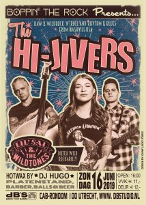 Boppin' the Rock presents The Hi-Jivers (USA - Wild Records) + Lil' Sal & the Wildtones (NL - Wild Records)