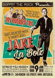 Boppin' the Rock presents Jake La Botz (USA) + Dry Riverbed Trio