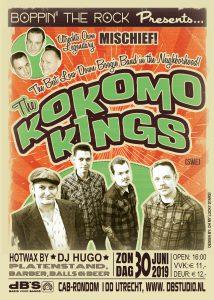 Boppin' the Rock presents Kokomo Kings (Swe) + Mischief!