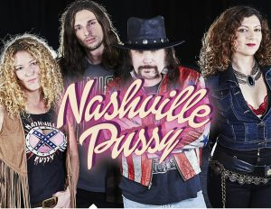 * Sold out* NASHVILLE PUSSY (USA) + White Boy Wasted
