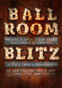 Ballroom Blitz dansbare herrie en King's Night alternative