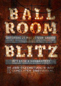 Ballroom Blitz met DJ's Ezzie & Kondratieff
