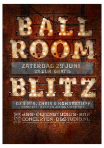 Ballroom Blitz > dansbare herrie en alternatieve hits