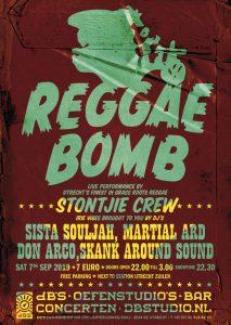 REGGAE BOMB w/ live STONTJIE CREW