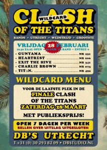 Wildcard Ronde Clash of the Titans