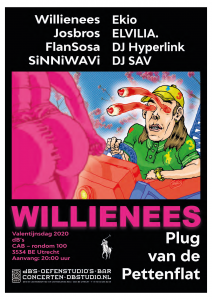 JOS BROS / WILLLIENEES (release show) / EKIO / SiNNiWaVi / ELVILLIA / FLANSOSA & DJ's Hyperlink & Sav