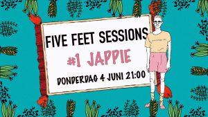 FIVE FEET SESSIONS #1 met Jappie