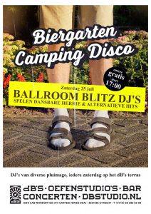 BIERGARTEN CAMPING DISCO met BALLROOM BLITZ CREW