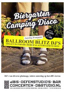 Biergarten Camping Disco > Ballroom Blitz edition