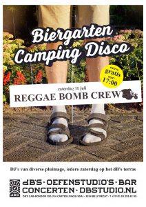 BIERGARTEN CAMPING DISCO met REGGAE BOMB CREW
