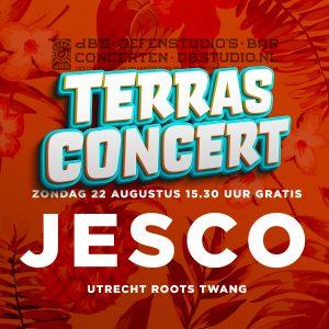 TERRASCONCERT met JESCO (Country Roots Rock Twang)