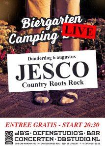 Biergarten Camping LIVE > JESCO (Country Roots Rock Twang)