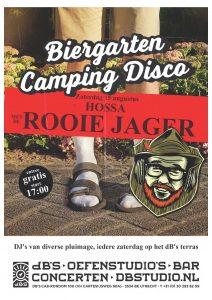 BIERGARTEN CAMPING DISCO > Hossa met De Rooie Jager
