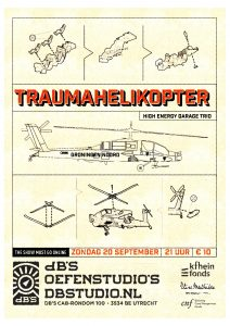 The Show Must Go ONline met TRAUMAHELIKOPTER