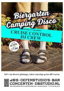 Biergarten Camping Disco met Cruise Control Dj Crew
