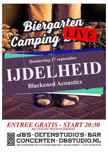 dB's Buiten met IJDELHEID (Blackened Acoustics)