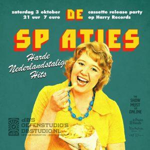The Show Must Go ONline met de sp aties > cassette release party!