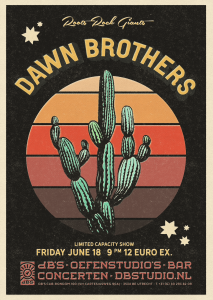 Uitverkocht* THE DAWN BROTHERS