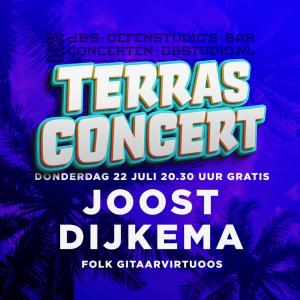 Terrasconcert met JOOST DIJKEMA