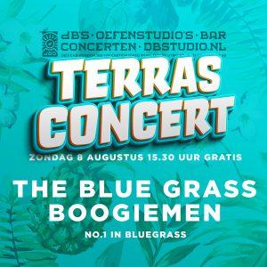 TERRASCONCERT met THE BLUE GRASS BOOGIEMEN