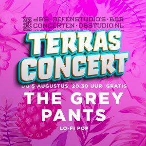 TERRASCONCERT met THE GREY PANTS